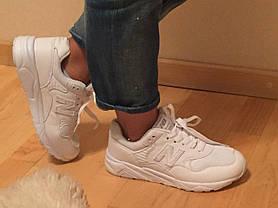 Белые кроссовки New Ballance 580 (копия), фото 3