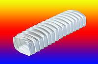 Гибкие воздуховоды из ПВХ пленки (65 мк) 55х100 - 3м