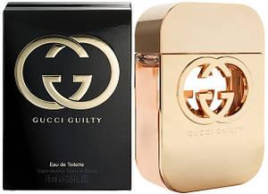 Gucci Guilty (Гуччи Гилти),женская туалетная вода , 75 ml