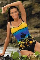 Яркий слитный женский купальник Ingrid TM Marko (Польша) 2 цвет