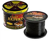 Леска Carp Expert Carbon 1000 m чорна