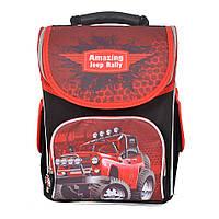 """Шкільний рюкзак з ортопедичною спинкою """" Jeep Rally """""""
