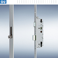 Замок-рейка R4 с защелкой для пластика G-U BKS (35/92/2285)