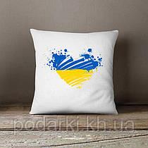 Оригинальная декоративная подушка Украина