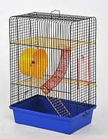Клетка Хомяк -4  для грызунов, цельная  330х230х500 мм