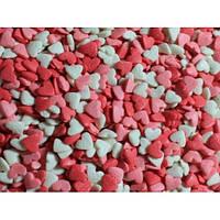 Посыпка кондитерская  Сердечки 3-х цветные мал.