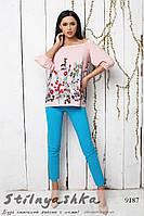 Романтический костюм розовый с голубым, фото 1