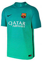 Футбольная форма 2016-2017 Барселона (Barcelona), Nike, резервная, спрайтовая
