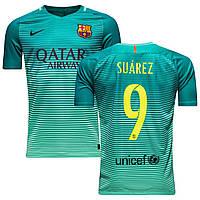 Футбольная форма 2016-2017 Барселона (Barcelona) Suarez резервная