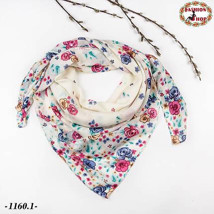 Красивый лёгкий платок Эмма, фото 2