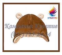 Детские шапки с ушками из флиса под заказ (от 50 шт.), фото 1