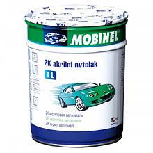 Автоэмаль 2К акриловая 0,75л Mobihel, код 0.40 Белая
