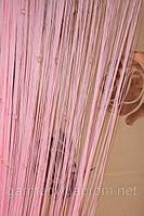 Кисея шторы нити со стеклярусом