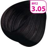 Стойкая СС крем-краска для волос KRASA с маслом амлы и аргинином тон 3.05 Темный каштан шоколадный