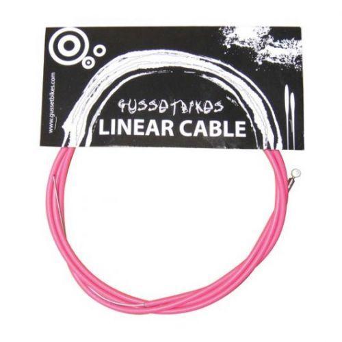 Кожух+трос BMX/MTB Gusset рожевий/pink 991895