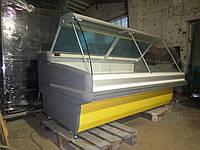 Витрина холодильная KOXKA  2 м. бу,  Прилавок холодильный б/у, фото 1