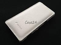 Кожаный чехол Melkco для Sony Xperia M C1905 C2005 белый, фото 1