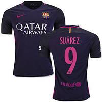 Футбольная форма 2016-2017 Барселона (Barcelona) Suarez выездная