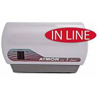 Проточный электро водонагреватель АТМОР In line 7 (3+4)кВт 4л/мин