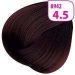 Стойкая СС крем-краска для волос KRASA с маслом амлы и аргинином тон 4.5 Каштан махагоновый