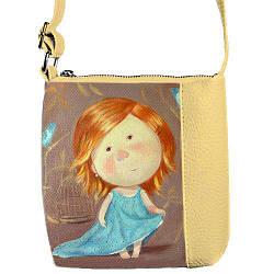 """Детская сумка с принтом """"Милая девочка Гапчинская"""""""