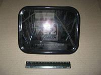 Зеркало боковое КАМАЗ,МАЗ,ГАЗ R400,220х170 пластиковый корпуса дополнительный сфера (производитель Россия)