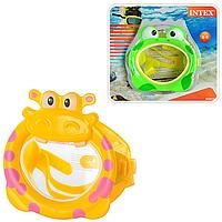 Маска для плавания детская «Забавные животные» | «Intex»