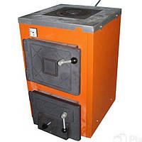 Твердотопливный котел Термобар АКТВ- 12 с плитой  1 комф,