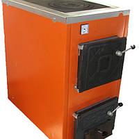 Твердотопливный котел Термобар АКТВ- 16 с плитой  1 комф,