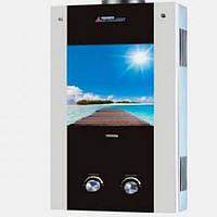 Газовая колонка проточная ETALON ALTAR 10 G (Пристань)  20 кВт, вертикальная, электронный розжиг, многоступенч