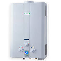 Газовая колонка проточная Termaxi JSD 20 WA 1 белая  10 литров Дымоход, автомат (батарейки), Китай