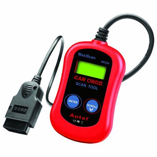 Сканер автомобильных ошибок Autel MaxiScan MS300 OBD-II
