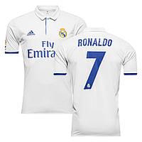 Футбольная форма 2016-2017 Реал Мадрид (Real Madrid) Ronaldo домашняя