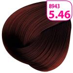 Стойкая СС крем-краска для волос KRASA с маслом амлы и аргинином тон 5.46 Светлый каштан медно-красный