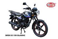 BIRD X3 150 (CLASSIC) (легкий мотоцикл)