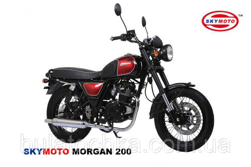 MORGAN 200 (Cafe Racer) (Двигатель, лицензия SUZUKI)