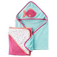 Комплект полотенец Carter's для девочек (CША)