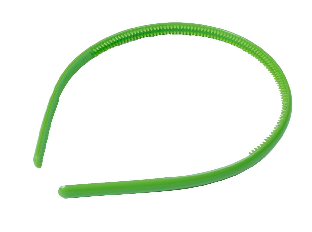 Обручи для волос (10mm) зеленые