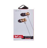 Наушники V-Like VK-818 Gold