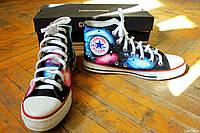 Кеды Converse высокие Lisa Deco Космос