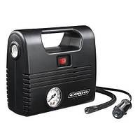 Компрессор Coido 2702 (100 psi) манометр/фонарь