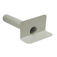 Воронка ПВХ парапетная серого цвета диаметром 100 мм длиной 500 мм