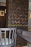 Мозаика деревянная из дуба 3D Tessera  * Дуб термо брашированный, фото 6