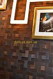 Мозаика деревянная из дуба 3D Tessera  * Дуб термо брашированный, фото 9