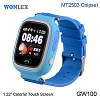 Детские умные часы Wonlex q100 с gps
