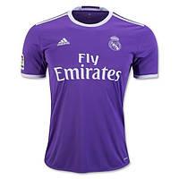 Футбольная форма 2016-2017 Реал Мадрид (Real Madrid), Adidas, выездная, фиолетовая