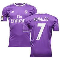 Футбольная форма 2016-2017 Реал Мадрид (Real Madrid) Ronaldo выездная