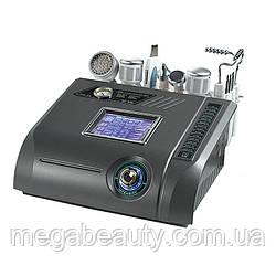 Косметологический комбайн 6 в 1 Nova 96 УЗ-чистка,УЗ-внедрение,алмазный пиллинг,тепло,холод,микротоки