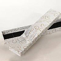 Подарочная коробочка длинная для браслетов и цепочек