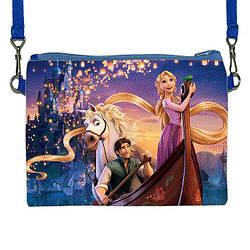 """Детская сумочка клатч для девочки с принтом """"Рапунцель"""""""